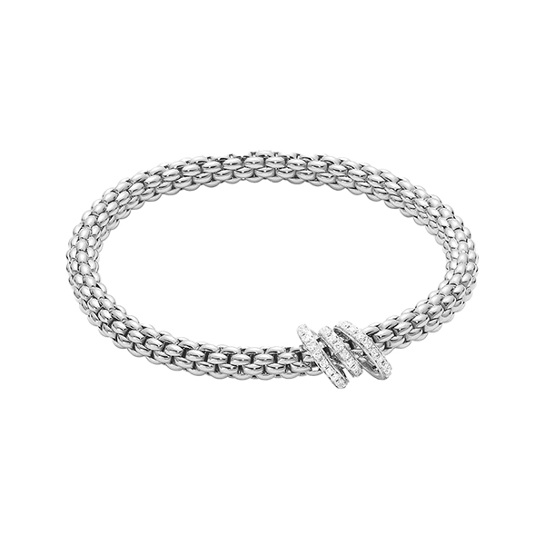 Foto Bracciale Flex'it Solo Pave Diamanti